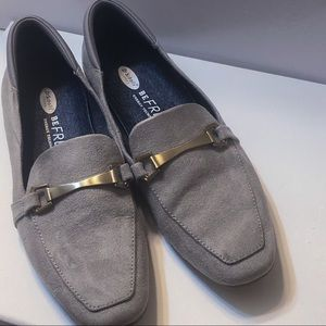 Dr. Scholl's Be Free suede grey shoes 7.5M
